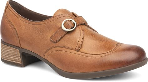The Dansko Saddle Burnished Nappa from the Livie collection